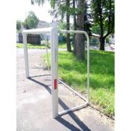 Алюминиевые футбольные ворота 2,2x1,5 м переносные Polsport PL-9477