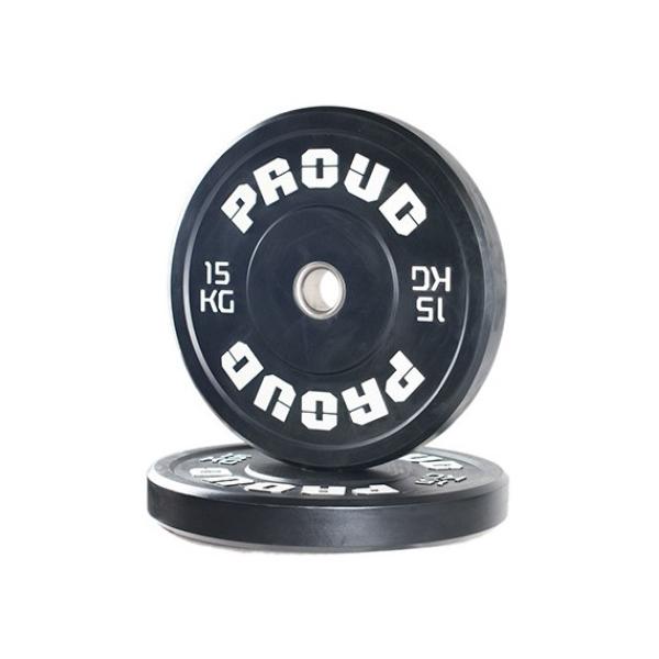 Диск олимпийский 15 кг Proud Training Black 15KG