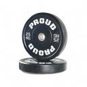 Диск олимпийский 25 кг Proud Training Black 25KG