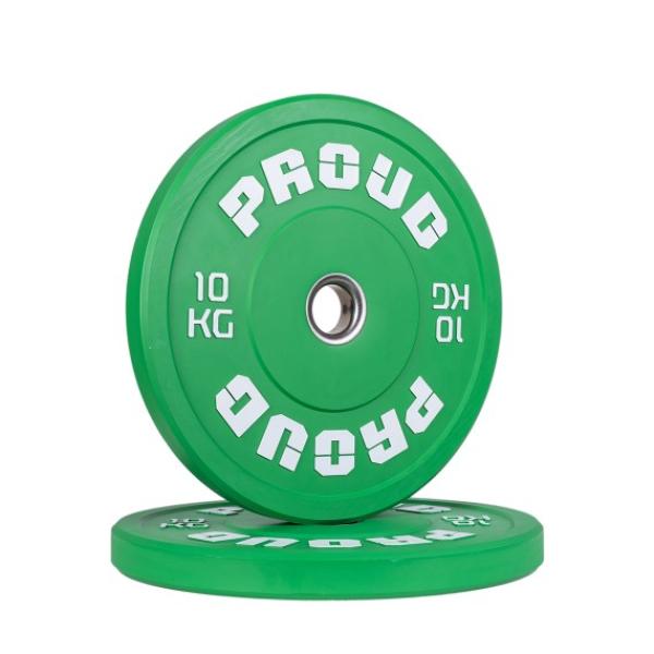 Диск олимпийский 10 кг Proud Training Color 10KG