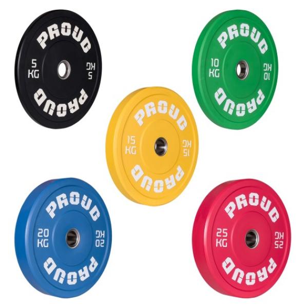 Диск олимпийский 15 кг Proud Training Color 15KG