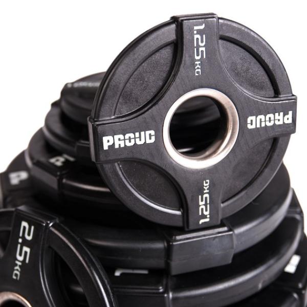 Набор дисков для штанги Proud Olympic Barbell Disc Set 1.25-25kg