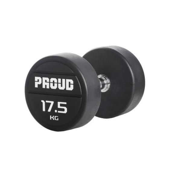 Гантельный ряд обрезиненный Proud 2.5-25kg