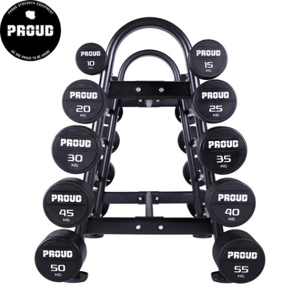 Комплект прямых штанг Proud 10-55kg