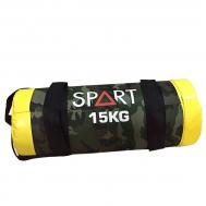 Мешок для фитнеса 15кг SPART CD8013-15