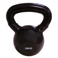 Цветная виниловая гиря 24 кг SPART DB2174-24