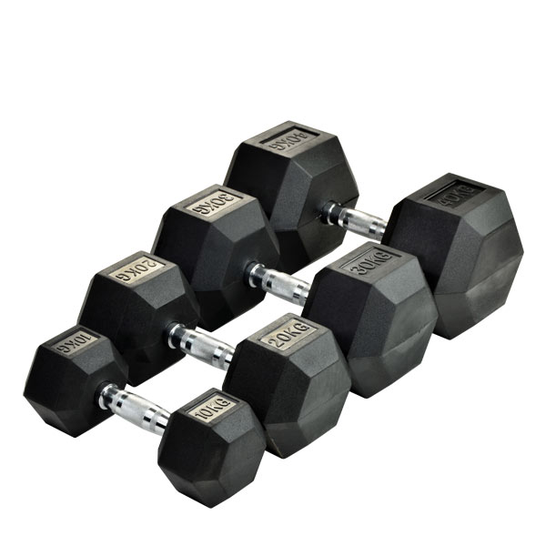 Гантельный ряд 50-80 кг (7 пар) SPART DB6101 - 50-80