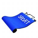 Коврик для фитнеса двухсторонний 180*60*0,6 см SPART EM3005