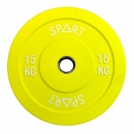 Бамперный диск цветной 15 кг SPART PL42-15