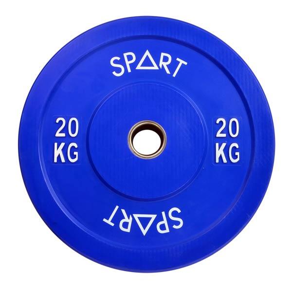 Бамперный диск цветной 20 кг SPART PL42-20
