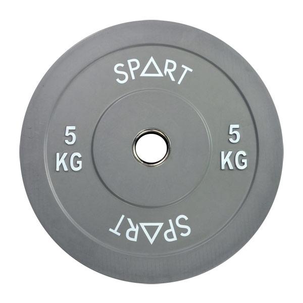 Бамперный диск цветной 5 кг SPART PL42-5
