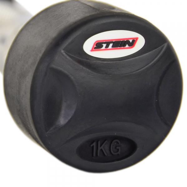 Гантель обрезиненная 1 кг Stein DB3051-1