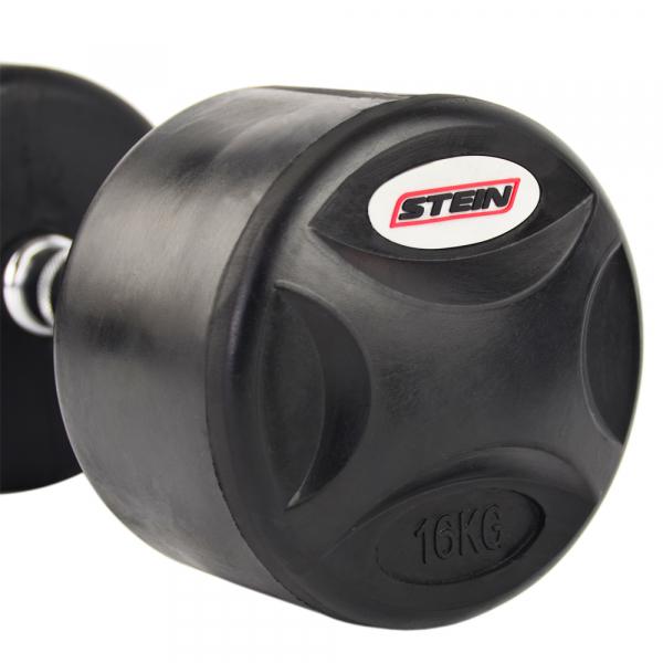 Гантель обрезиненная 16 кг Stein DB3051-16