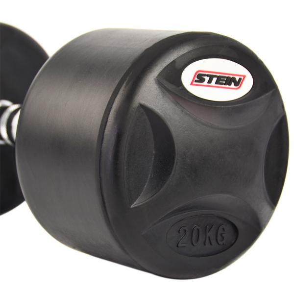 Гантель обрезиненная 20 кг Stein DB3051-20