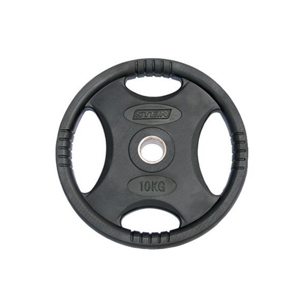 Диск обрезиненный 10 кг Stein DB6061-10