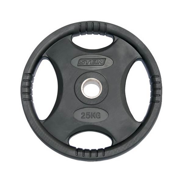 Диск обрезиненный 25 кг Stein DB6061-25