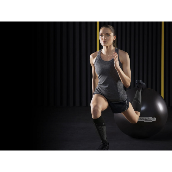 Мяч упругий 65 см Technogym Double Density Ball D65 Black (A0000951)