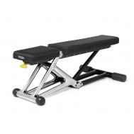Скамья Technogym Bench Personal Chrome 55KG + Dumbbell MD10K-NBK01AS