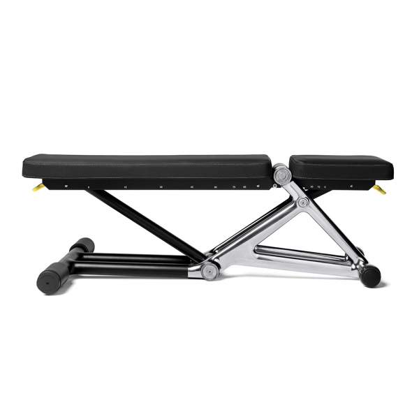 Скамья Technogym Bench Personal Chrome 55KG + Dumbbell MD10KB-NBNB1AS