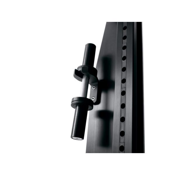 Многофункциональная стойка Technogym Rack Personal Dark 115 Kg + Barbell&Dumbbell MD15K-NBNB00S