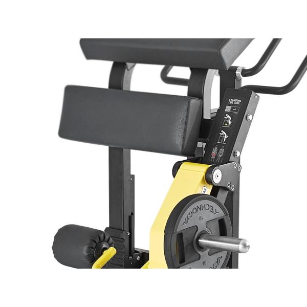 """Тренажер """"Сгибание ног"""" с дисковым нагрузкой Technogym STANDING LEG CURL MG7000"""