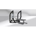 Олимпийская жимовая скамья от груди с отрицательным углом Technogym  OLYMPIC DECLINE BENCH PG23