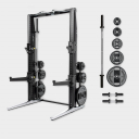 Многофункциональная стойка Technogym Rack Personal Chrome 115 Kg + Barbell&Dumbbell MD15K-NBK000S