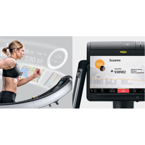Велотренажер Technogym Recline Excite 1000P Unity