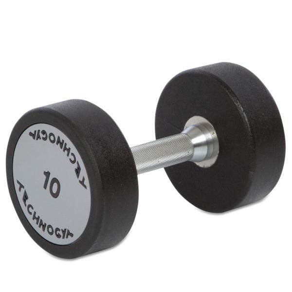 Гантель цельная полиуретановая Technogym TG-10 кг