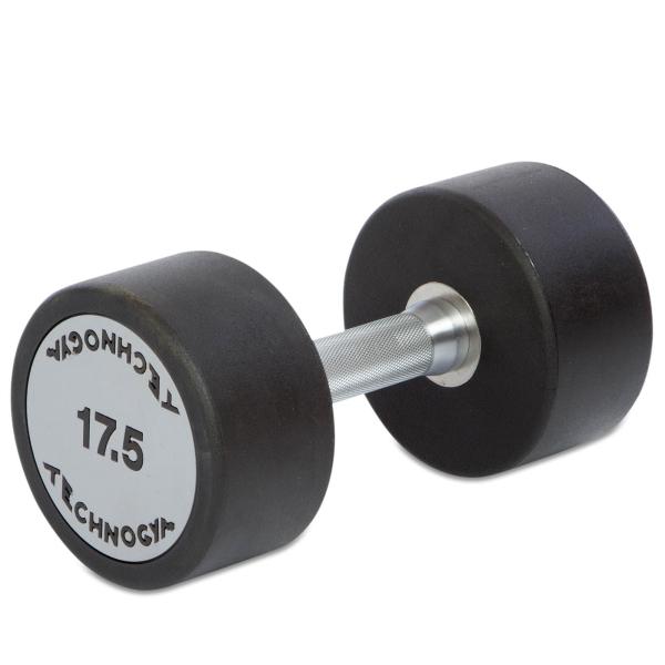 Гантель цельная полиуретановая Technogym TG-17.5 кг