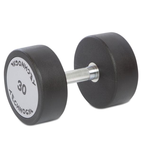 Гантель цельная полиуретановая Technogym TG-30 кг