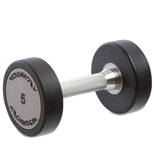 Гантель цельная полиуретановая Technogym TG-5 кг