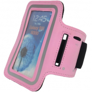 Чехол на руку для смартфона Tunturi Telephone Armband (розовый) 14TUSRU162