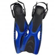 Ласты для дайвинга регулируемые Tunturi Adjustable Diving Fins Mythos 40-43 14TUSSW119