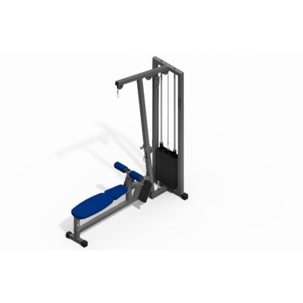 Блок для мышц спины Wuotan GB.03