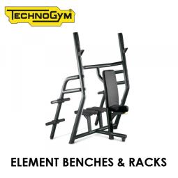 Профессиональные тренажеры Technogym Element Benches & Racks
