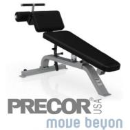 Скамья для пресса Precor 113 Adjustable Decline Bench