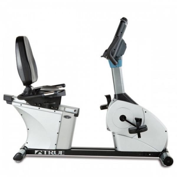 Горизонтальный велотренажер профессиональный True CS400 Escalate 9