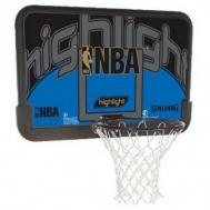 """Баскетбольный щит NBA Highlight 44\"""" Composite Spalding 80453CN"""