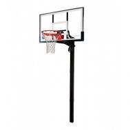 Баскетбольная стойка (стационарная) Acrylic in-ground 54 Spalding 88365CN