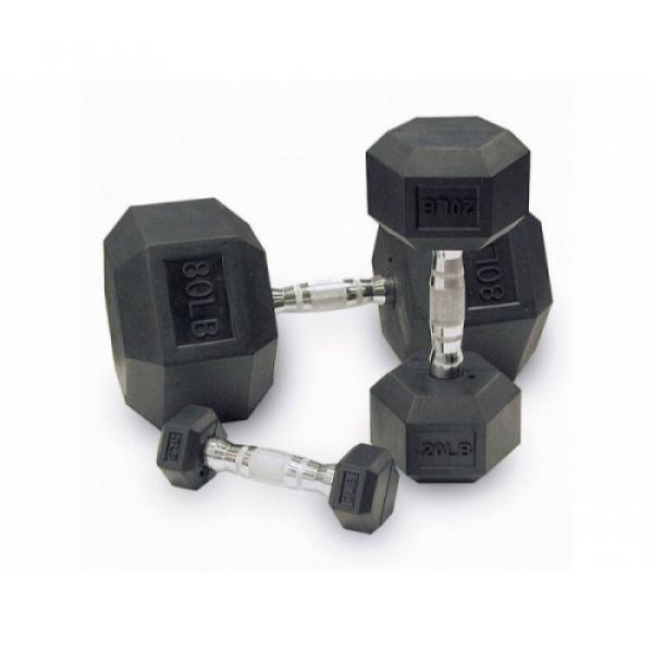 Гантельный ряд гексагональный Fitnessport D-06 2.5-50kg