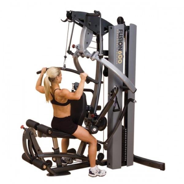 Фитнес станция с одним весовым стеком BodySolid FUSION 600