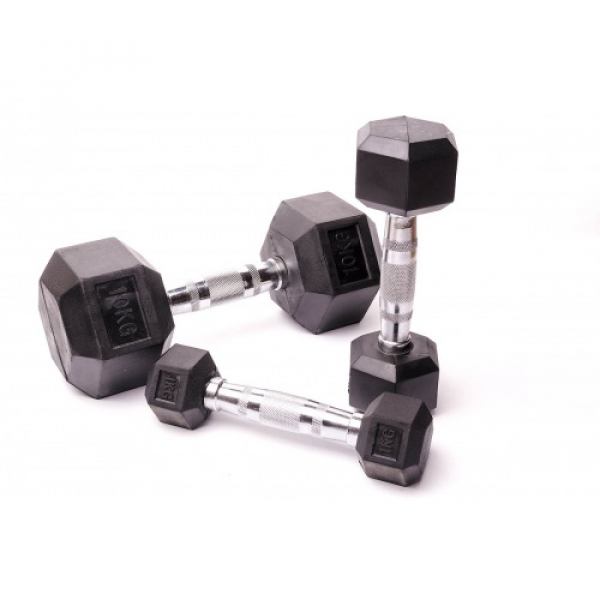 Гантельная пара - 2шт Fitnessport D-03-8kg