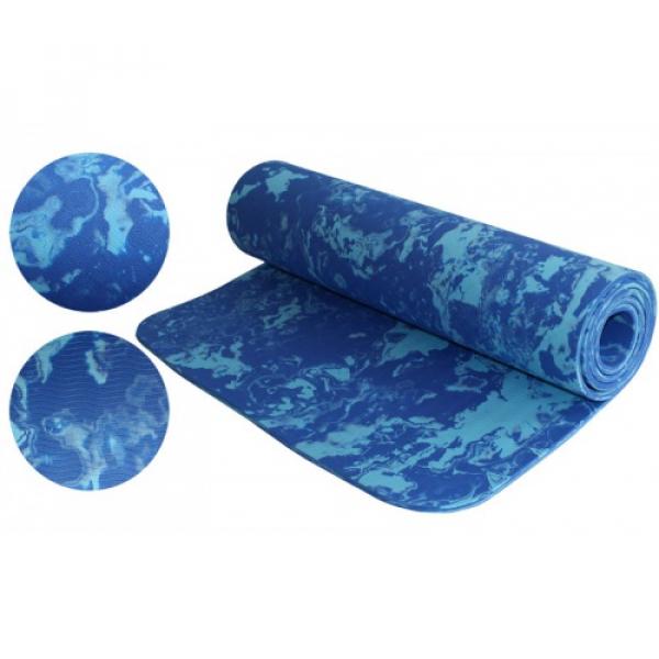 Коврик Yoga mat   (синий) Fitnessport Zm13-3