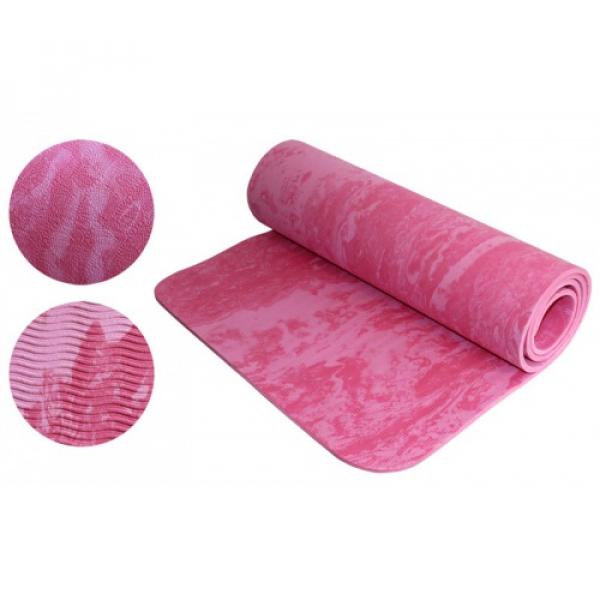 Коврик Yoga mat (розовый) Fitnessport Zm13-1