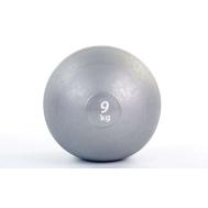 Мяч медицинский (слэмбол) SLAM BALL 9кг ( 23см, серый) Fitnessport Sb-01-slam-ball-9kg