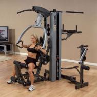 Фитнес станция с одним весовым стеком BodySolid FUSION 500