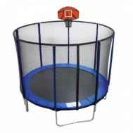 Батут с баскетбольным щитом Ø244 см EnergyFit GB10103-8FT