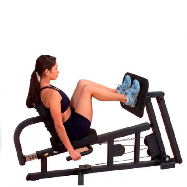 Опция «Жим ногами» BodySolid GLP для G10B, G6B, G5S, G4I, G3S, G2B