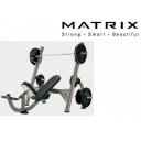 Скамья для жима наклонная Matrix G3-FW11B (G3-FW14)